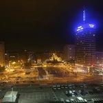 Barcelo Sants вечерний вид из номера
