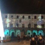 Palazzo dei priori: luminarie