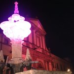 Fontana grande: luminarie