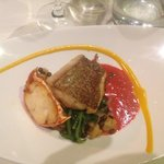 snapper and crab course
