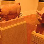 Piggy sculptures..