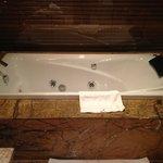 Incredible bathtub.