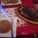 Teriyaki Beef and Fried Rice