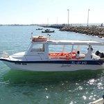 Transfer boat from Tulear Port