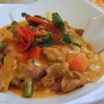 Delicious curry mutton