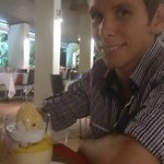 Lex's favourite desert - Mango Bavarois