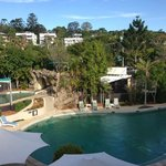 Great 25 metre pool and spa