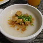 My day 2 breakfast:  Congee