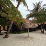 Fine sand & clean beach