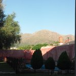 vista desde la habitación al Cerro