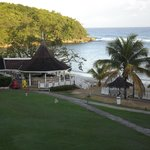 View from our balcony, shows the Bella Vista Restaurant and bar