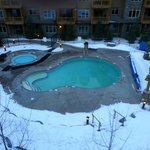 hot tub/heated pool