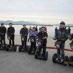 Of course it was not possible to take photos of the fun we had whilst on the Segways!