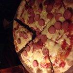 Pizza perro caliente!