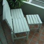 Chairs on Balcony