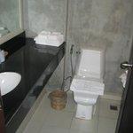 Updated restroom in King Bed room