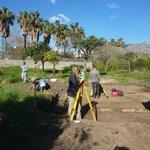 Archeologi al lavoro nel parco archeologico di Naxos