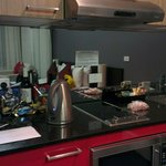 Deluxe harbour view kitchenette