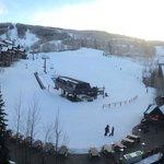 Convenient hotel ski lift