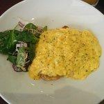 Runny scrambled eggs :(