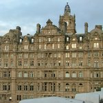 The Balmoral from Royal Mile view,