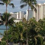 View of Waikiki from balcony