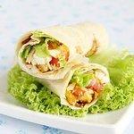 Cheese & Chicken Wrap