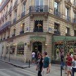 Beautiful Paris! Laduree shop! Yummy Macaroons!
