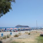 Utsikt fra strandbaren