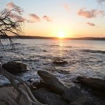 Sunset over port hacking from Jibbon point
