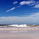 Beautiful small waves