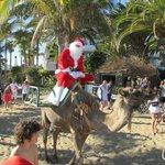 Santa on a camel