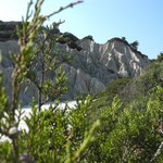 Gerakas - la roccia calcarea