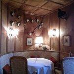Europa Stuberl restaurant dining room
