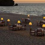 Anjajvy dinner on the beach