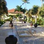 Now Larimar fountain
