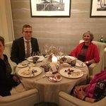 Dinner at Restaurant Haerlin, Hotel Vier Jahreszeiten