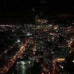 Aussicht vom Hancock Tower bei Nacht
