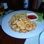 Fried calamari ... super juicy and fresh