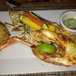 Fantastica grilled Lobster