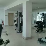 Well equipped gym