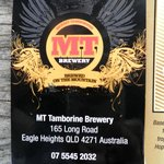 MT Brewery card
