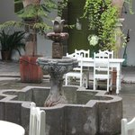 The courtyard lovliness