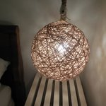 Cool lamps in the rooms!