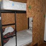 Privacidade no isolamento entre as camas!!!!