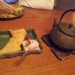 Вкусный чай и еда