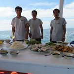 Christmas Lunch aboard the Resort Launch