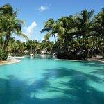 main pool at resort