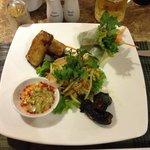 Vietnam combination dish