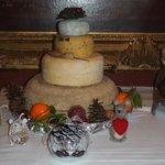 "The Cheese ""Wedding Cake"""